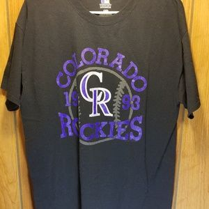 Colorado Rockies 1993 Emblem MLB Men's Large